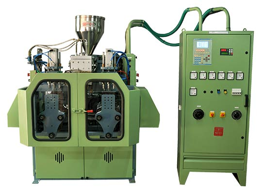 200 ML DOUBLE STATION blow moulding machine manufacturers