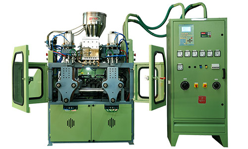 200 ML TRIPLE HEAD WITH BOBBING blow moulding machine manufacturers
