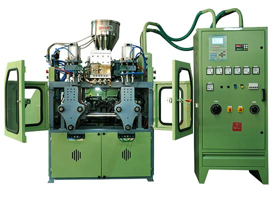 2ltr Double Station blow moulding machine