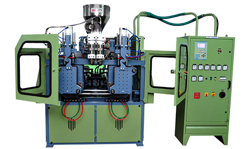 500 ML DOUBLE HEAD with doubal station blow moulding machine