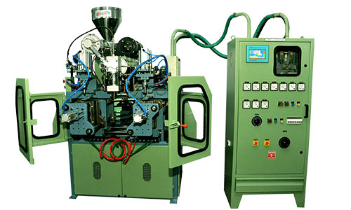 500 ML DOUBLE STATION WITH DOUBLE COLOUR blow moulding machine