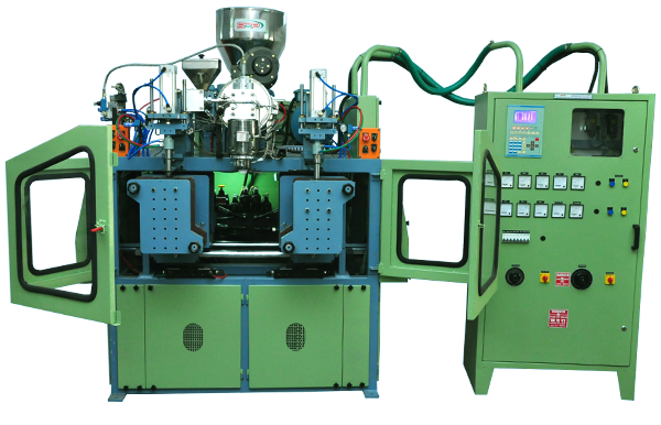pet stretch blow moulding machine