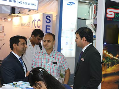 smp at plast india expo 2018