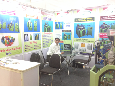 expo of plastic blow moulding machine manufacturer in india