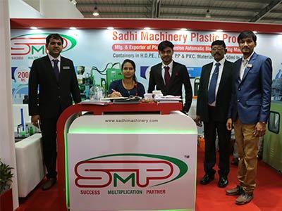 sadhi machinery at plast india 2018