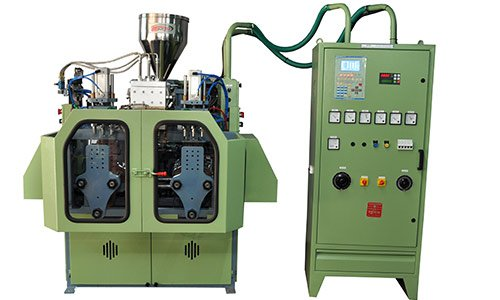 200 ML TRIPLE HEAD WITH DOUBLE STATION blow moulding Machine Manufacturer in india
